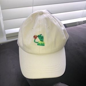 Accessories - Kermit the frog but that's none of my business hat